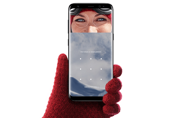 Samsung galaxy S8 Scansione Iride