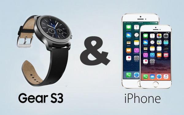 Gear S3 & iPhone