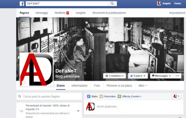 Pagine Fan Facebook