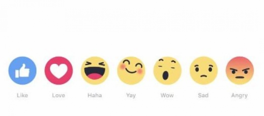 Facebook introduce Reactions, le nuove emoticom per ...