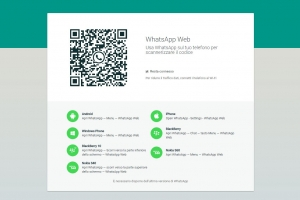 WhatsApp Web ora disponibile anche per IOs