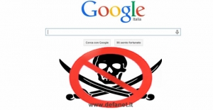 Google Anti pirateria