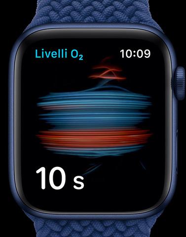 Apple Watch Series 6 livello ossigeno