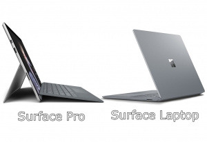 Surface Pro Surface Laptop