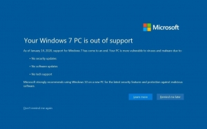 Windows 7 Fine Supporto