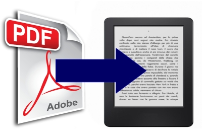 Come convertire PDF in EPUB o MOBI