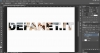 Photoshop: Come riempire un testo con un immagine