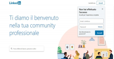 Linkedin: Come navigare in forma anonima