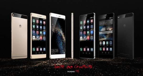 Huawei P8 un mix di bellezza e Confort