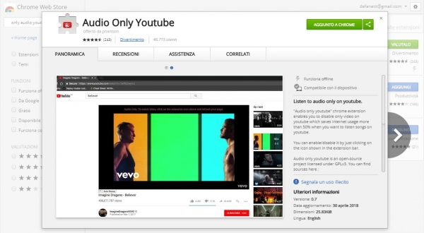 Audio Only Youtube
