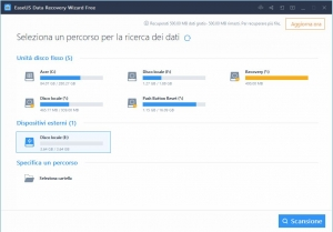 Come recuperare file cancellati