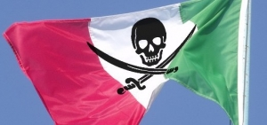 Italia Bloccati 25 siti di pirateria