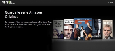 Amazon Prime Video: Amazon punta sulla sua piattaforma di streaming