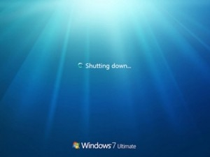 Come velocizzare l'arresto di Windows 7