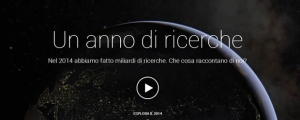 Google pubblica Year in search 2014 la classifica del termini più ricercati