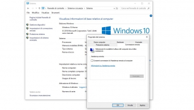 Come disattivare assistenza remota su Windows